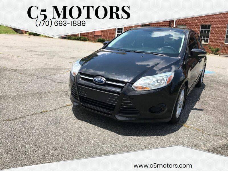 2014 Ford Focus for sale at C5 Motors in Marietta GA