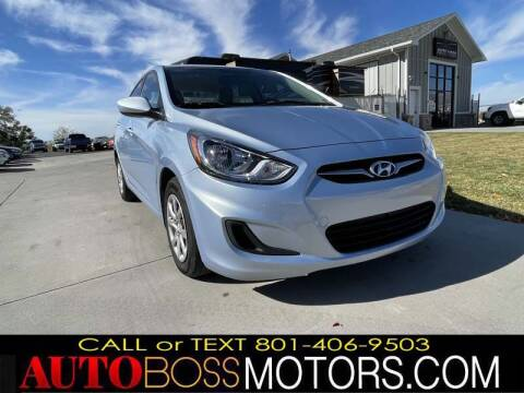 2013 Hyundai Accent for sale at Auto Boss in Woods Cross UT