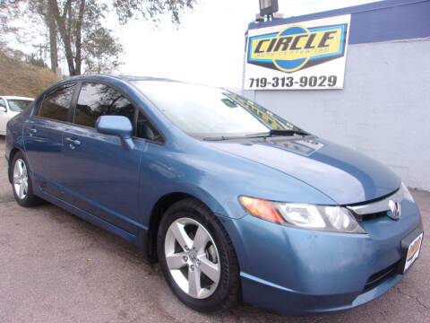 2007 Honda Civic for sale at Circle Auto Center in Colorado Springs CO