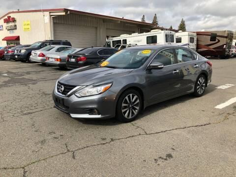 2017 Nissan Altima for sale at TOP QUALITY AUTO in Rancho Cordova CA