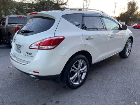 2011 Nissan Murano for sale at Elite Auto Sales Inc in Front Royal VA