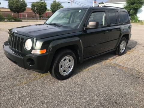 2010 Jeep Patriot for sale at D'Ambroise Auto Sales in Lowell MA