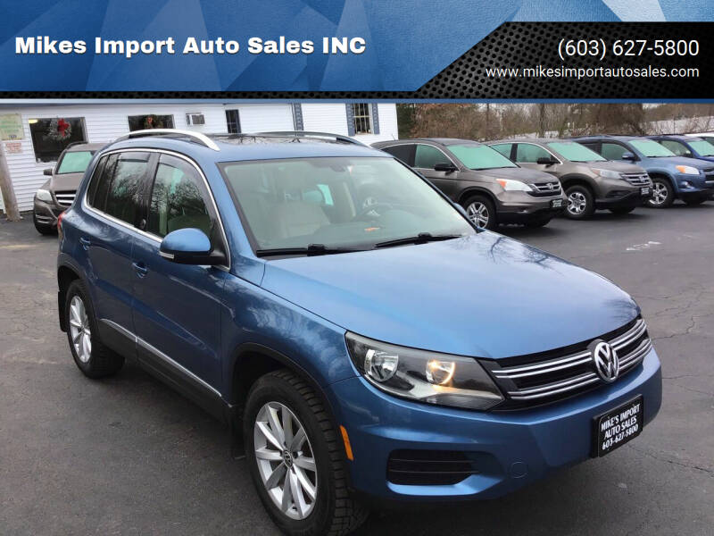 2017 Volkswagen Tiguan for sale at Mikes Import Auto Sales INC in Hooksett NH