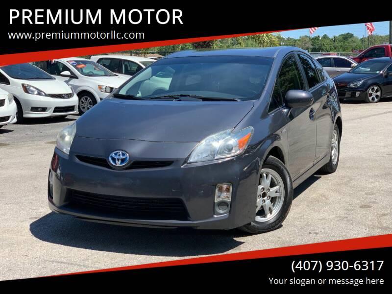 2011 Toyota Prius for sale at PREMIUM MOTOR in Orlando FL