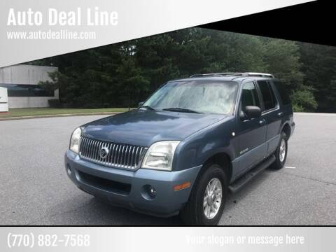 2002 Mercury Mountaineer for sale at Auto Deal Line in Alpharetta GA
