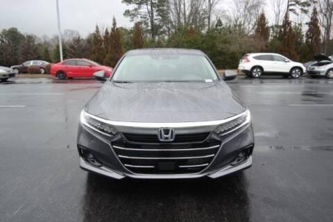 2021 Honda Accord Hybrid for sale at Southern Auto Solutions - Lou Sobh Honda in Marietta GA