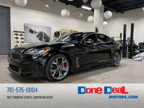 2018 Kia Stinger for sale at DONE DEAL MOTORS in Canton MA