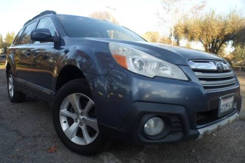 2013 Subaru Outback for sale at CAR PLUS in Modesto CA