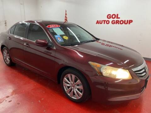 2012 Honda Accord for sale at GOL Auto Group in Austin TX