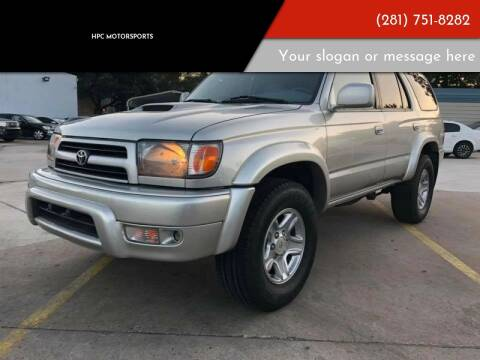 2000 Toyota 4Runner for sale at HPC Motorsports in Spring TX