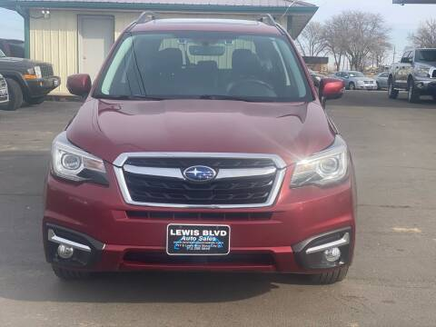 2017 Subaru Forester for sale at Lewis Blvd Auto Sales in Sioux City IA