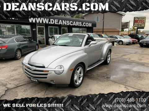 2005 Chevrolet SSR for sale at DEANSCARS.COM in Bridgeview IL