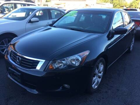 2008 Honda Accord for sale at Dijie Auto Sale and Service Co. in Johnston RI