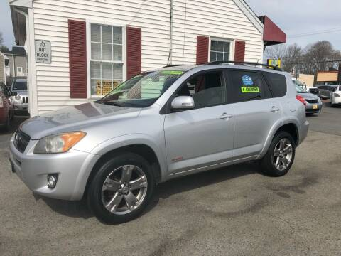 2012 Toyota RAV4 for sale at Crown Auto Sales in Abington MA