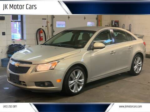 2012 Chevrolet Cruze for sale at JK Motor Cars in Pittsburgh PA