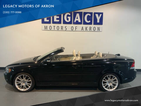 2008 Volvo C70 for sale at LEGACY MOTORS OF AKRON in Akron OH