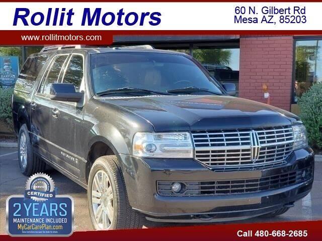 2012 Lincoln Navigator L for sale at Rollit Motors in Mesa AZ