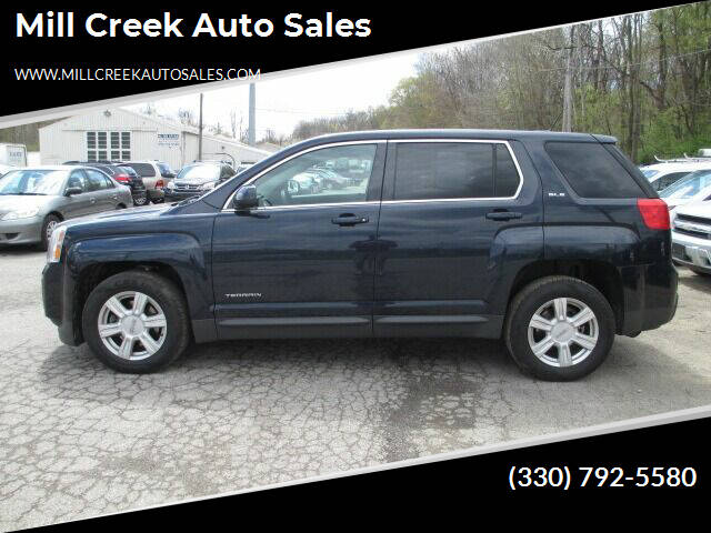 2015 GMC Terrain for sale at Mill Creek Auto Sales in Youngstown OH