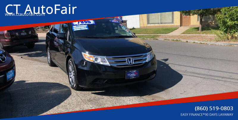 2011 Honda Odyssey for sale at CT AutoFair in West Hartford CT