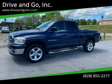 2007 Dodge Ram Pickup 1500 for sale at Drive and Go, Inc. in Hickory NC