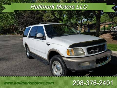 1998 Ford Expedition for sale at HALLMARK MOTORS LLC in Boise ID