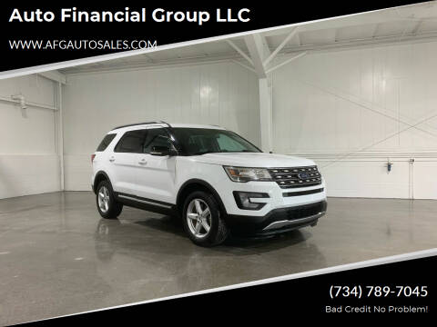 2017 Ford Explorer for sale at Auto Financial Group LLC in Flat Rock MI