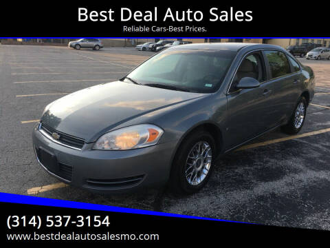 2008 Chevrolet Impala for sale at Best Deal Auto Sales in Saint Charles MO
