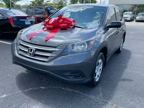 2013 Honda CR-V for sale at Charlotte Auto Group, Inc in Monroe NC