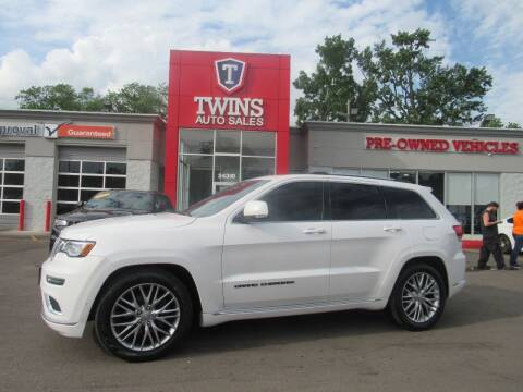 2018 Jeep Grand Cherokee for sale at Twins Auto Sales Inc Redford 1 in Redford MI