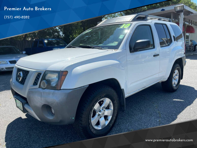 2010 Nissan Xterra for sale at Premier Auto Brokers in Virginia Beach VA