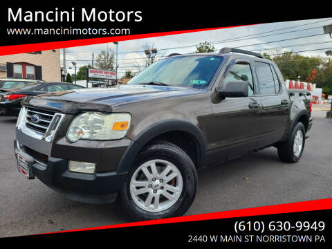 2007 Ford Explorer Sport Trac for sale at Mancini Motors in Norristown PA