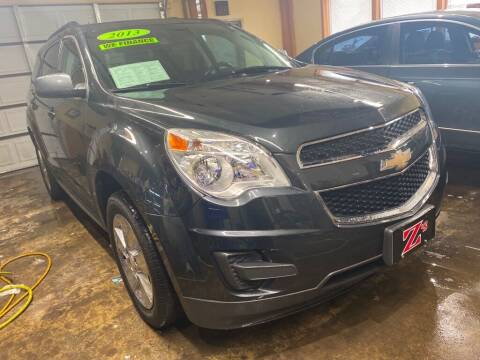 2013 Chevrolet Equinox for sale at Zs Auto Sales in Kenosha WI
