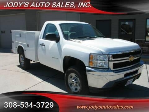 2013 Chevrolet Silverado 2500HD for sale at Jody's Auto Sales in North Platte NE