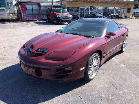 2002 Pontiac Firebird for sale at Outdoor Recreation World Inc. in Panama City FL
