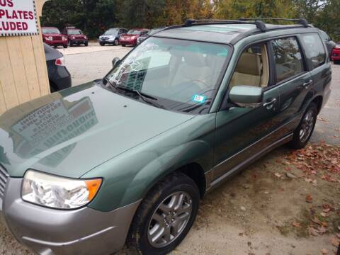 2007 Subaru Forester for sale at Auto Brokers of Milford in Milford NH