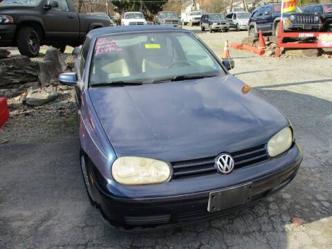 2001 Volkswagen Cabrio for sale at FERNWOOD AUTO SALES in Nicholson PA