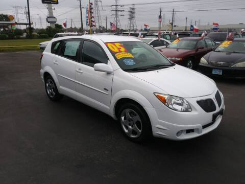 2005 Pontiac Vibe for sale at Texas 1 Auto Finance in Kemah TX