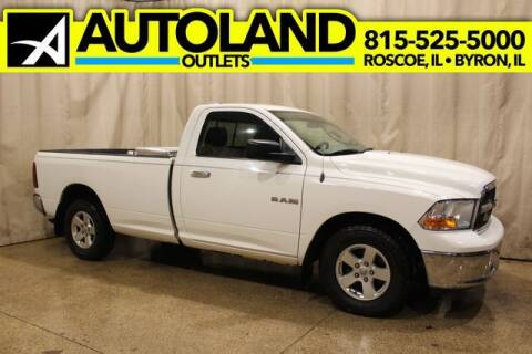 2009 Dodge Ram Pickup 1500 for sale at AutoLand Outlets Inc in Roscoe IL
