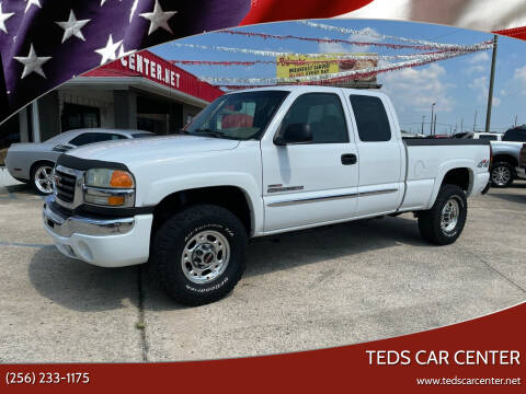 2004 GMC Sierra 2500HD for sale at TEDS CAR CENTER in Athens AL