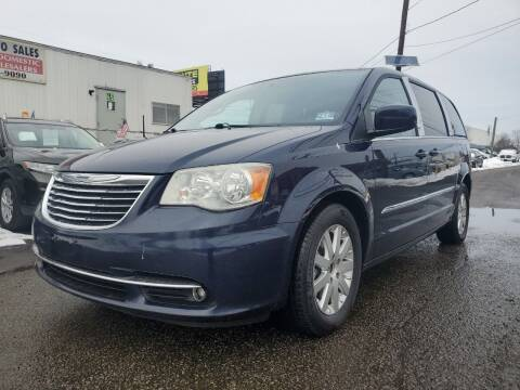 2012 Chrysler Town and Country for sale at MENNE AUTO SALES in Hasbrouck Heights NJ