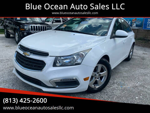 2015 Chevrolet Cruze for sale at Blue Ocean Auto Sales LLC in Tampa FL