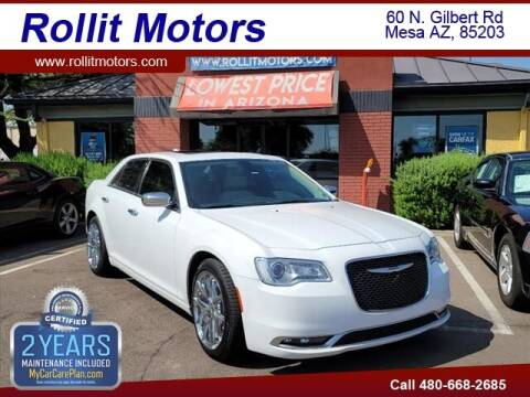 2017 Chrysler 300 for sale at Rollit Motors in Mesa AZ