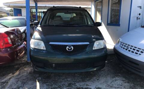 2003 Mazda MPV for sale at SKYLINE AUTO SALES LLC in Winter Haven FL