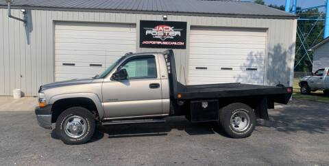 2002 Chevrolet Silverado 3500 for sale at Jack Foster Used Cars LLC in Honea Path SC