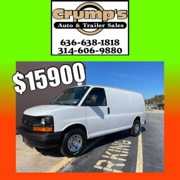 2011 Chevrolet Express Cargo for sale at CRUMP'S AUTO & TRAILER SALES in Crystal City MO
