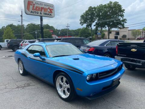 2010 Dodge Challenger for sale at FIORE'S AUTO & TRUCK SALES in Shrewsbury MA