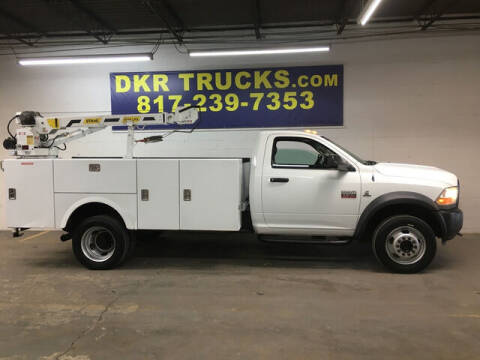 2012 RAM Ram Chassis 4500 for sale at DKR Trucks in Arlington TX