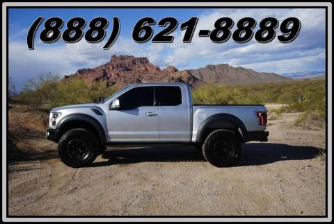 2017 Ford F-150 for sale at AZautorv.com in Mesa AZ