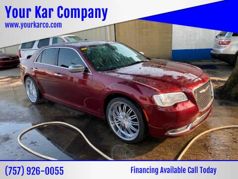 2016 Chrysler 300 for sale at Your Kar Company in Norfolk VA