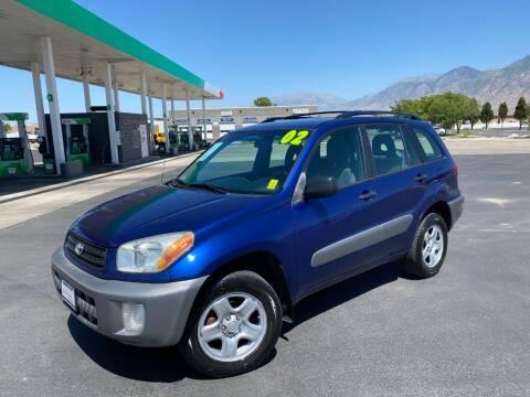 2002 Toyota RAV4 for sale at Evolution Auto Sales LLC in Springville UT